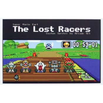 Lost Racers - Collectable Card by arcade-art