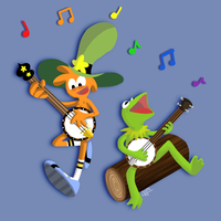 Banjo Buddies by Checkz3