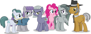 pinkie Pie's Family re-done----again! by Vector-Brony