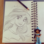 Princess Jasmine by princekido