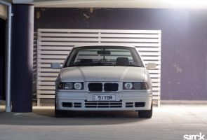 BMW 318i E36 Front by small-sk8er