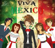 VIVA MEXICO: OC's top five by sayuri12moonlight
