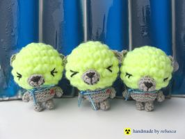 Radioactive bears by rebusca