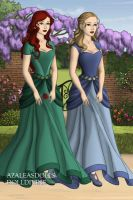 Mairead and Luna: Sisters by GMD-girl93