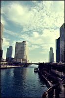 Downtown Chicago by soldierofsolace