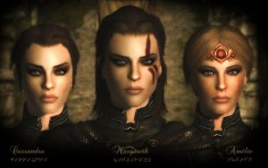 The Nightingales by amnis406
