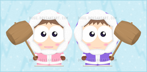 Ice Climbers Goin to SouthPark by Dosu