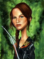 Katniss Everdeen by rico3244