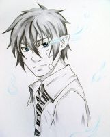 AO no Exorcist by Kitehh