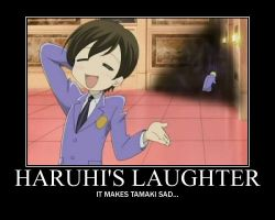When Haruhi Laughs by TheWorldIsAVampire8