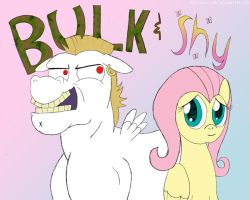 MLP - Bulk and Shy by AniRichie-Art