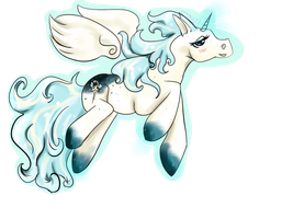Winged Guardian Pony Auction --end by Naeezadopts