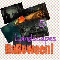 HalloweenLansdcapesPACK01 by AboutFlawless