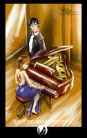 nodame and chiaki by tiocleiton