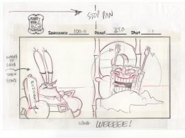 SpongeBob Movie storyboard: WEEEEE!!! by shermcohen