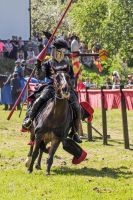 The Black Knight in action by attomanen