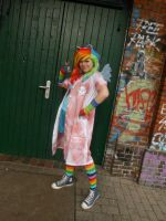 Rainbow Dash [Rainbow Factory] Cosplay 1 by Milchwoman