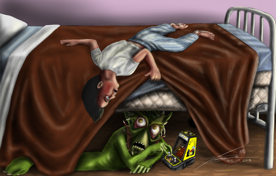 Monster Under The Bed by VinceReina