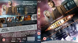 DOCTOR WHO SERIES 2 BLU-RAY COVER by MrPacinoHead