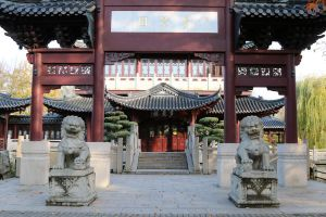 Chinese garden Stock 27 by Malleni-Stock
