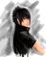 Noctis speed paint by puttL