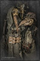 Steampunk Plague Doctors by steamworker