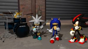 (SFM)Garage Band by CipherHegehog064