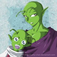 Piccolo and Dende by Patty-Chan