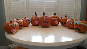 Baby Pumpkins by Kidd-style