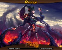 Moonga - Lord of the Darkfire by moonga