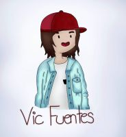 Vic Fuentes in Adventure Time Version by AndiScissorhands