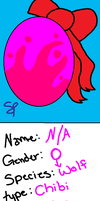 Chibi Egg 3 by Snowflame132