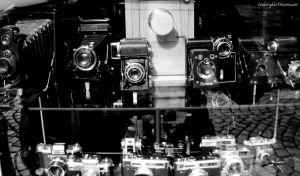 Old Cameras by Ailedail