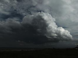 Storm Moving In by DanDeibler