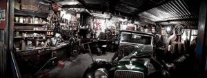 old garage panorama by Siilver1984