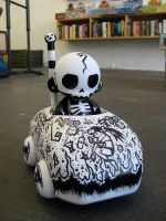 Mini Munny: Voodoo Monkey by SpicyDonut