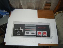 NES Controller Project 2 by devastator006