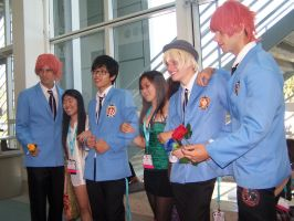 Anime Expo '12 - Ouran Host Club by xXAna-ChristXx