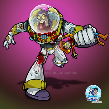 Zombie Buzz Lightyear by rozhvector