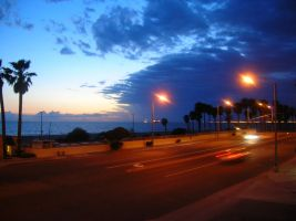 Huntington Beach Night's by cherpintow