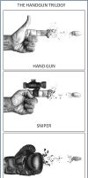 The HandGun Trilogy by Paul-Shanghai
