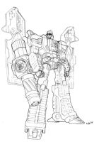 classics megatron lineart by beamer