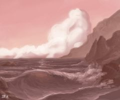 Seascape by Merystic