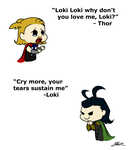 The Quotable Thor and Loki by caycowa