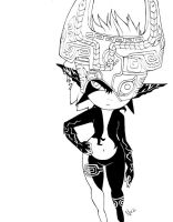 Midna lineart by NatSmall