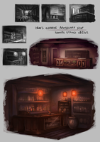 Chinese Apothecary Shop Concepts by Spikings
