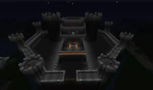 Castle at Nighttime by Noob4u