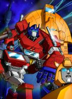Transformers G1 by gwydion1982