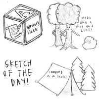 sketch of the day by whoslepe