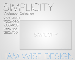 Desktop Wallpaper: Simplicity by LiamWise